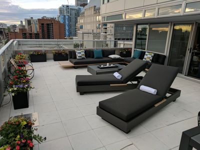 Photo for ULTRA LUXURY 3 Bed, DTWN Entertainment  Area Oasis with Private 1000 ft. Terrace