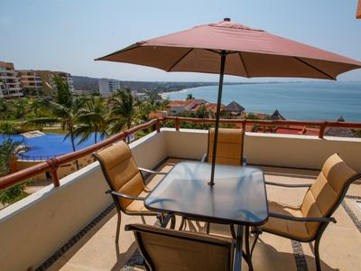Photo for Enjoy the best view of Banderas Bay from this beautiful condo at Punta Esmeralda