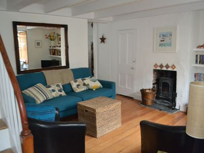 Photo for Vintage Cornish 2 bed Fishermans Cottage in Downalong St Ives near the beaches