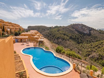 Photo for Top Apartment Moraira 4pers. 1.5 kilometres from Centre, Sea/Beach, Restaurants