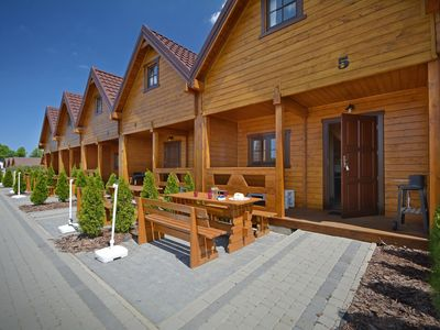 Photo for New, well equipped holiday house located 800 m from the sea.