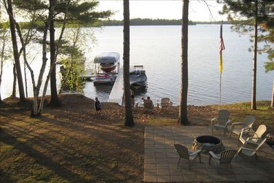 View of Lake Shore from Back Deck