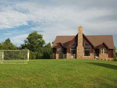 Photo for High Point Retreat! Large open concept.  Great for family gatherings!
