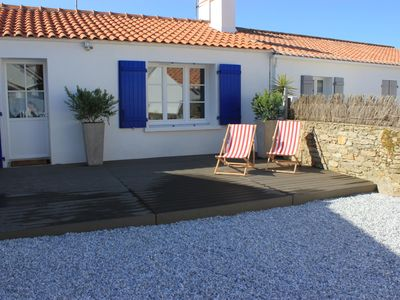 Photo for NOIRMOUTIER, OLD HOUSE 20 M FROM THE BEACH