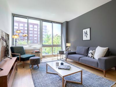 Photo for Modern Hell's Kitchen 1BR w/ Gym, W/D in unit by Blueground
