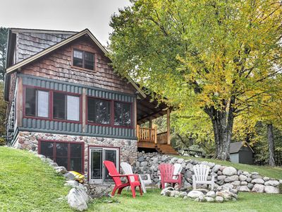 Photo for Lakefront Mercer Cabin w/2 Lofts, Fire Pit & Porch