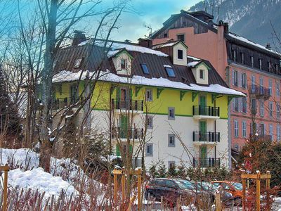 Photo for Luxury 2 bedroom 2 bathroom apartment in Chamonix centre, parking & Free WiFi