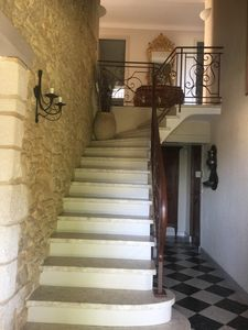 Photo for Holidays with family or friends near Avignon in a pretty village in the Gard