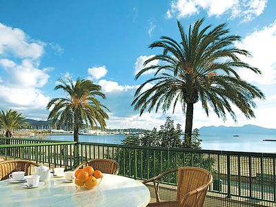 Photo for First floor Pollensa Apartment  across from the beach!