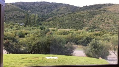Photo for Beautiful Groundfloor Apartment in Arelauquen Golf with amazing mountain views