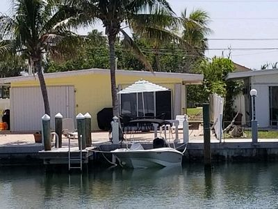 Key Colony Beach Vacation - Canal front 2 bedroom, 2 bathroom sleeps 4 with dock