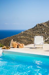Photo for Large Stone Villa with Pool in Serifos