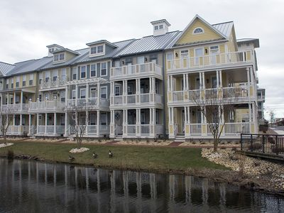 Photo for Spacious Sunset Island Townhome - Wi-Fi, Pools, Dock, Private Beach!