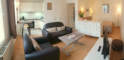 Photo for A SPACIOUS COMFORTABLE STUDIO APPARTMENT IN THE HEART OF MONTPELLIER