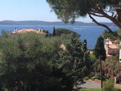 Photo for Sainte Maxime charming studio apartment with terrace and sea view