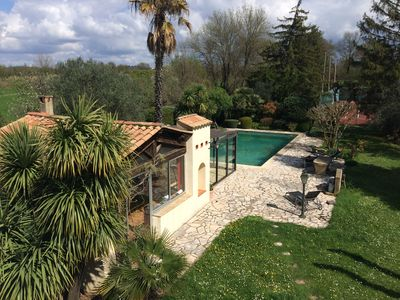 Photo for cottage, swimming pool tennis in St Christol les Alès