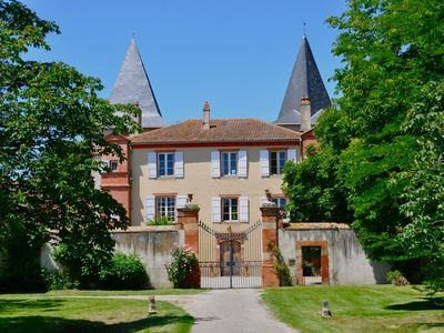 Photo for Chateau Riveneuve  big family house at the foot of pyrenees, sleeps 40 people
