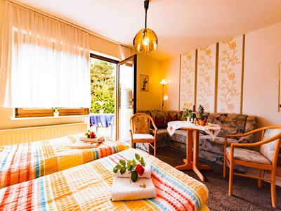 """Photo for Twin Room - Family Pension & Apartments """"Fischer-Haus"""""""