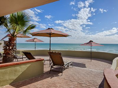 Photo for Beachfront home-Private-Not for everyone