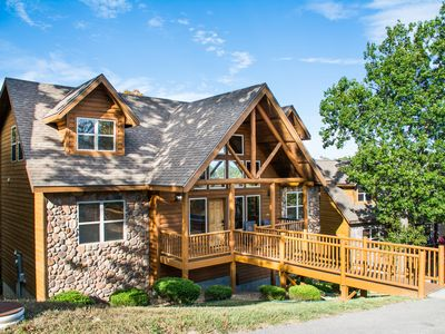 Photo for Royal Moose and Black Bear Lodges - 14 master suites - sleeps 48- swimming pool