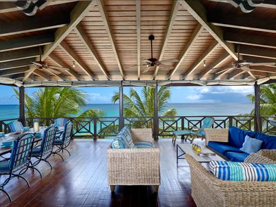 Photo for Luxury Stunning 5 Bedroom Beach-House on the Best Beach in Barbados