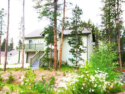 Photo for A Homestake House - Newer home. Incredible deck views. Garage!