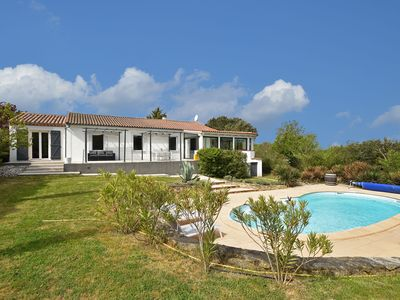 Photo for Luxury villa with heated private swimming pool and complete privacy