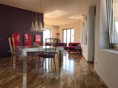 Photo for Amazing roofterrace flat 2min from Duomo, 2 bedrooms&2 bathrooms and Duomo view