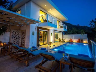 Photo for Luxury Secluded 2 Bedroom Villa with Heated Pool in Uzumlu Village, nr. Kalkan