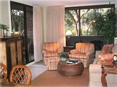 Photo for 2 BR/2 BA Villa next to the beach. Resort Member. Located in Shipwatch.