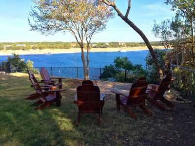 Photo for Classic Lake Travis Waterfront Cabin