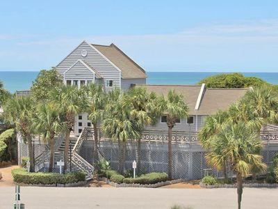 Photo for Breezy townhome w/ shared pool & tennis, beach access - small dogs welcome!