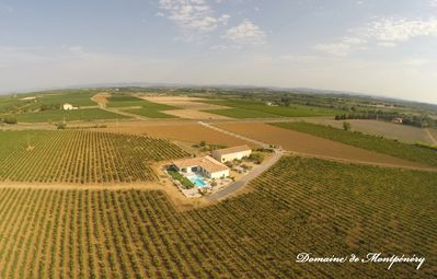 Photo for Contemporary villa winery with infinity pool