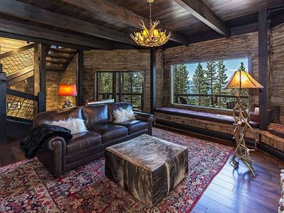 Photo for Luxurious, Newly Renovated Cabin with a Lake View