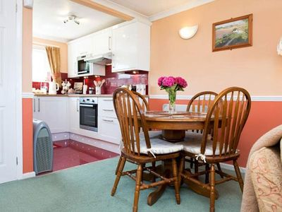 """Photo for """"Little Willows"""" Widemouth Bay Sea View Bungalow *Indoor Swimming Pool*"""