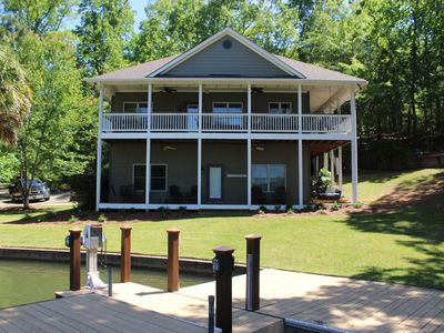 Photo for Quiet and secluded family home on Lake Martin! Book your getaway now!