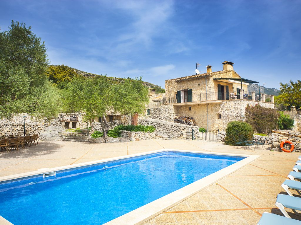 Finca Son Riera: Spacious villa, 400m2, for 12 people with private ...