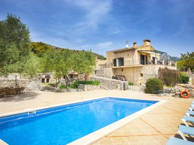 Photo for Spacious villa, 400m2, for 12 people with private pool