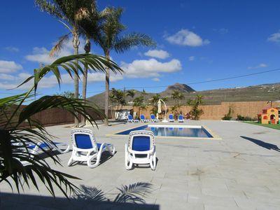 Photo for Luxury Villa with private heated pool in a quiet area.