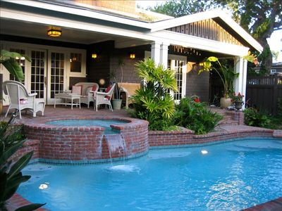 Your vacation paradise with hot tub, heated pool, outdoor dining & grill