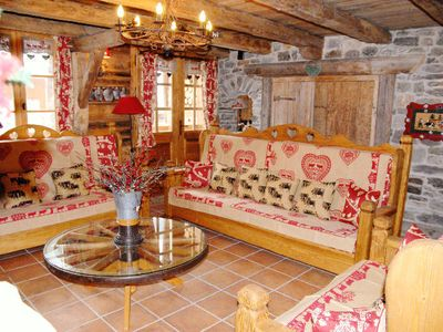 Photo for Chalet Champagny - 9 room chalet 16 people
