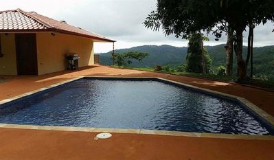 Large Pool with Ocean and Valley Views