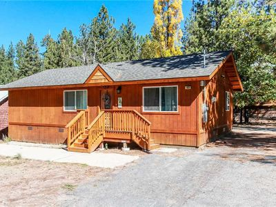 Photo for Knight Cabin - 3BR/2BA/Walk to Lake and Village/WiFi/Cozy Fireplace