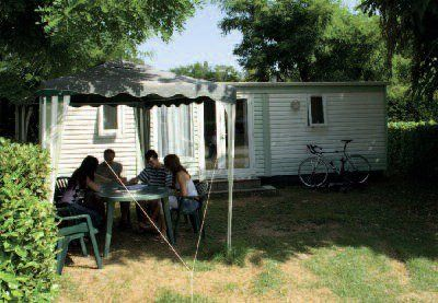 Photo for Camping Mijeannes *** - Simple Cottage 3 Rooms 4 People No Sanitary