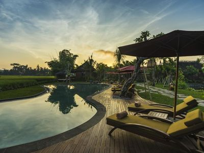 Photo for Traditional Joglo Garden View, few minutes to Ubud Monkey Forest