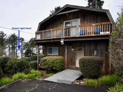 Photo for Just steps from the beach & tidepools! Full kitchen.  Ocean Views.