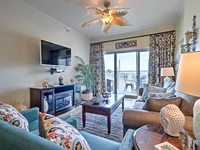 Photo for Lavish Beachfront Biloxi Condo w/Pvt Patio & Pool!