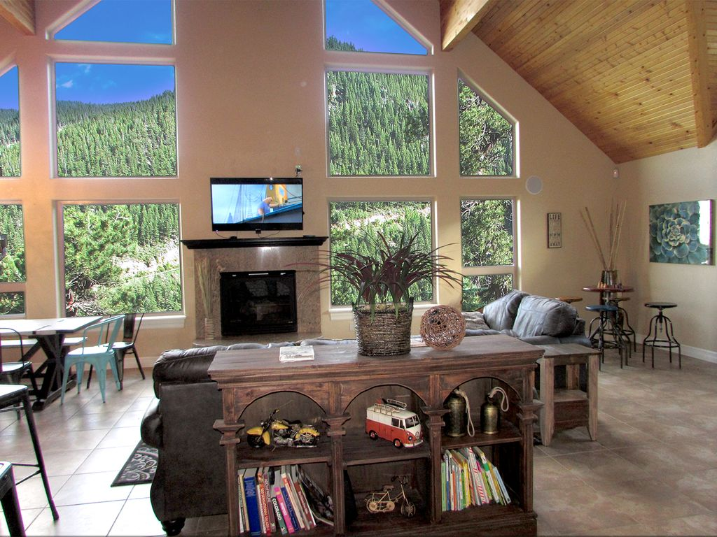 6 bdr mountain home 360 views ski red roc homeaway for House 360 view