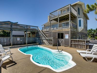 Photo for Duck Vue   Oceanfront   Private Pool, Hot Tub, Dog Friendly   Duck