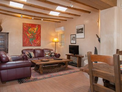 Photo for Casa Colibri: Secluded yet in the heart of old Santa Fe : 3 Blocks to Plaza